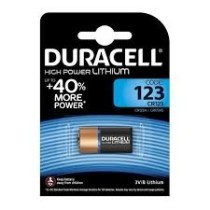 x. BATERIJA CR123 (DURACELL) 123 / DL123 /  CR123A / CR17345 / BL-1 / ULTA PHOTOS