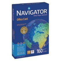 PAPIR A4, 160 gr. Navigator office card, 1/250